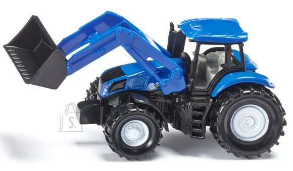Siku mudelsõiduk New Holland traktor esilaaduriga