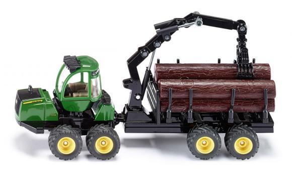 Siku mudelsõiduk metsaveotraktor John Deere