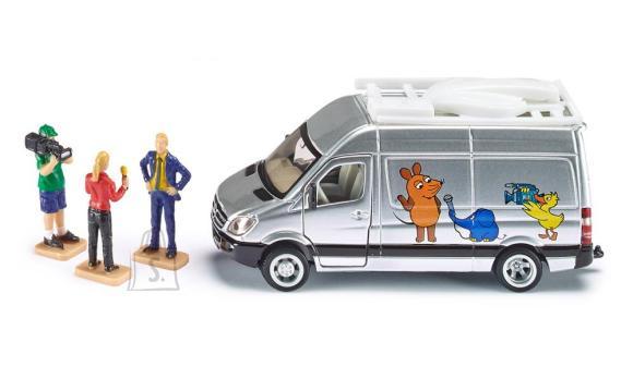 Siku mudelsõiduk televisioonibuss