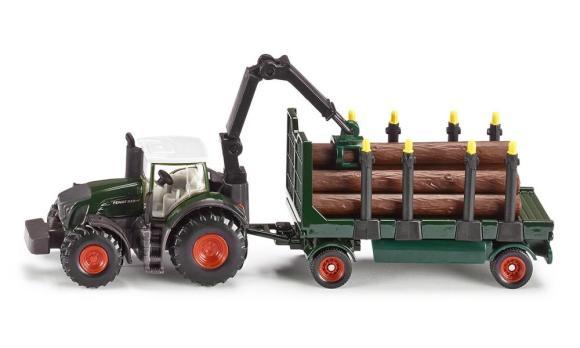 Siku mudelsõiduk Fendt 939 metsaveotraktor