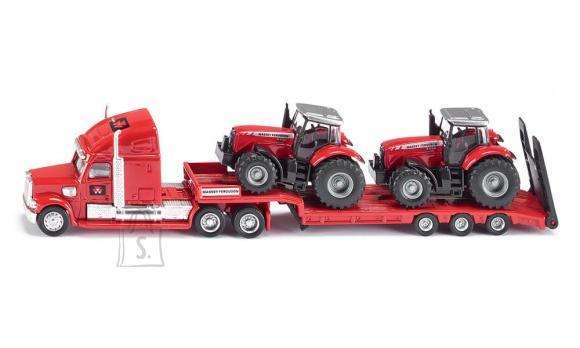 Siku mudelsõiduk treiler traktoritega