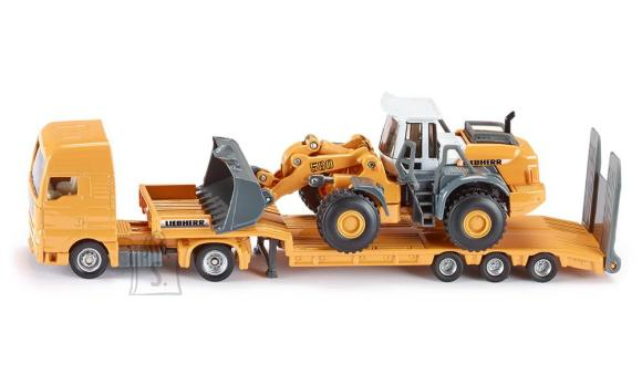 Siku mudelsõiduk treiler traktoriga