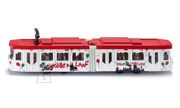Siku mudelsõiduk tramm