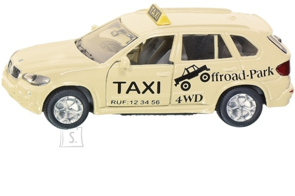 Siku mudelauto takso BMW X5