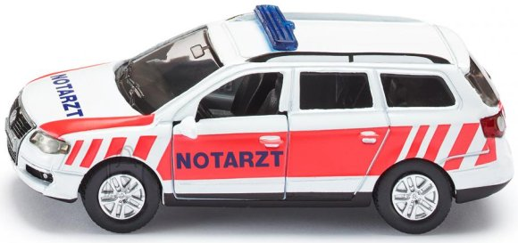 Siku mudelsõiduk Volkswagen kiirabiauto