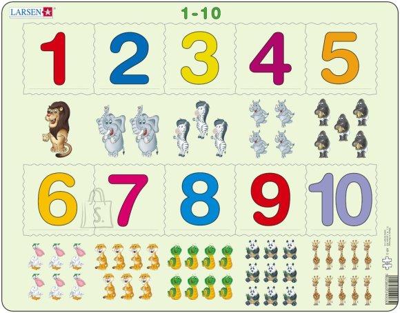 Larsen õppepusle numbrid 1-10 10 tk