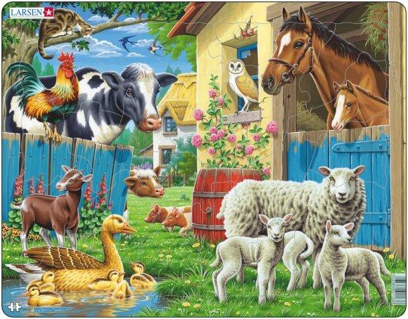 Larsen pusle farmiloomad 23 tk