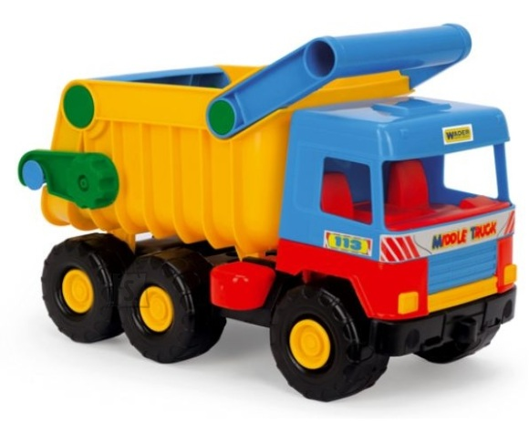 Wader mängusõiduk kallur Middle Truck