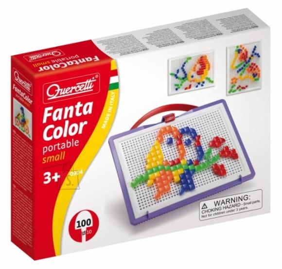 Quercetti mosaiigikohver Fantacolor 100 nuppu