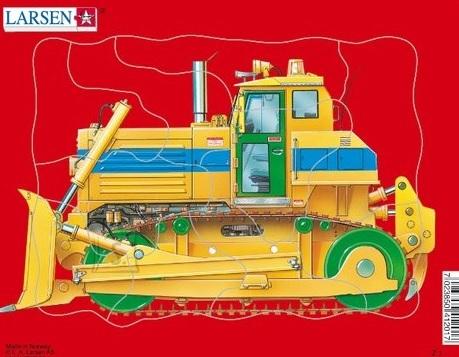 Larsen minipusle traktorid ja sõidukid 10 tk