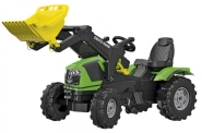 Rolly Toys Deutz-Fahr 5120 pedaalidega traktor kopaga