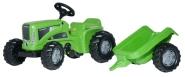 Rolly Toys Rolly Kiddy Futura pedaalidega traktor käruga