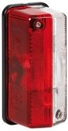 Lampa punane-valge gabariidituli 12V E4