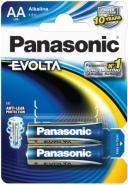 Panasonic AA patarei Evolta 2 tk