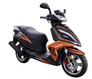 Motoroller Freedo 12 must-oranž