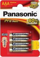 AAA Pro power Panasonic patarei 4tk.
