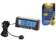 Lampa digitaalne kell-termomeeter alarmiga