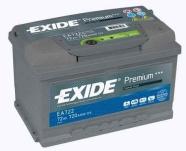 Exide Aku Premium 72Ah720A 278x175x175 -+