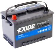 Exide Aku Premium 68Ah 650A 278x175x190 +-