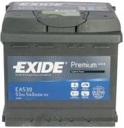Exide Aku Premium 53Ah540A 207x175x190 -+