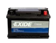 Exide aku Classic 65Ah 540A 278x175x175 -+