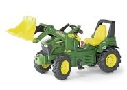 Rolly Toys Pedaalidega traktor lastele John Deere 7930 kopaga