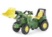 Rolly Toys Pedaalidega traktor lastele John Deere7930 kopaga