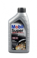Mobil Super poolsünteetiline mootoriõli 2000 X1 10W-40 1L