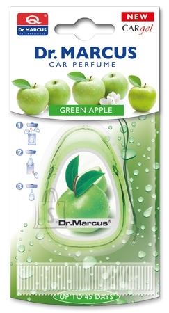 Dr. Marcus Car Gel Green Apple õhuvärskendaja