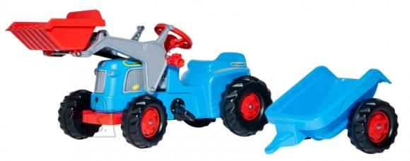 Rolly Toys Classic pedaalidega traktor käru ja kopaga