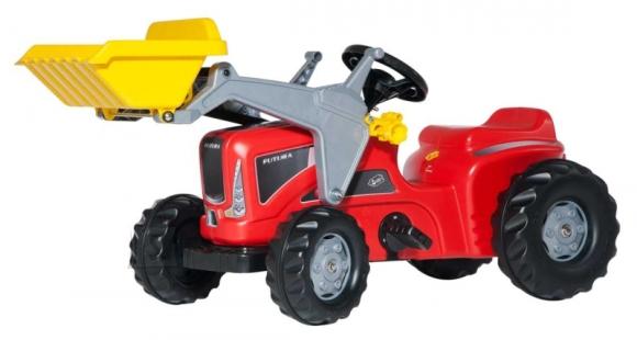 Rolly Toys Futura pedaalidega traktor kopaga