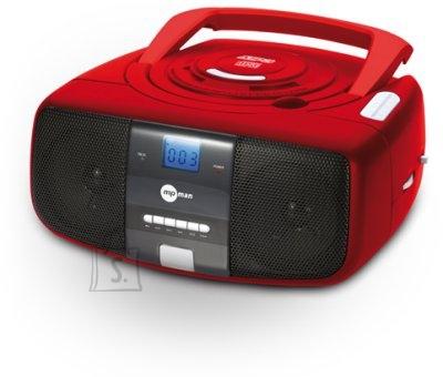 mpman kaasaskantav analoograadio AM/FM ja CD-mängija
