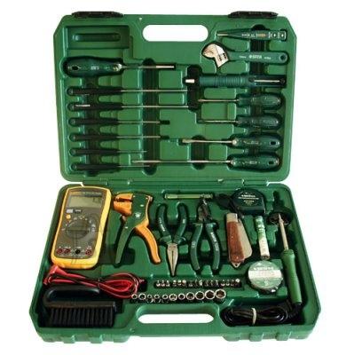 Sata 53-osaline elektriku tööriistakohver