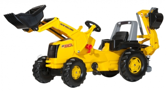 Rolly Toys New Holland laaduri ja kopaga