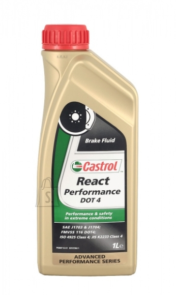 Castrol DOT4 React Performance pidurivedelik 1L