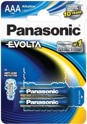 Panasonic Evolta AAA patarei 2 tk