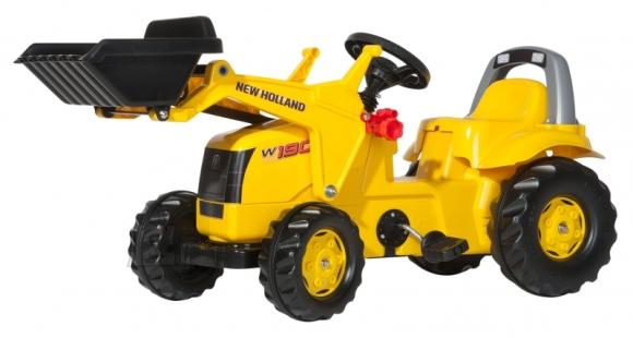 Rolly Toys pedaalidega traktor Rollykid NewHolland Construction
