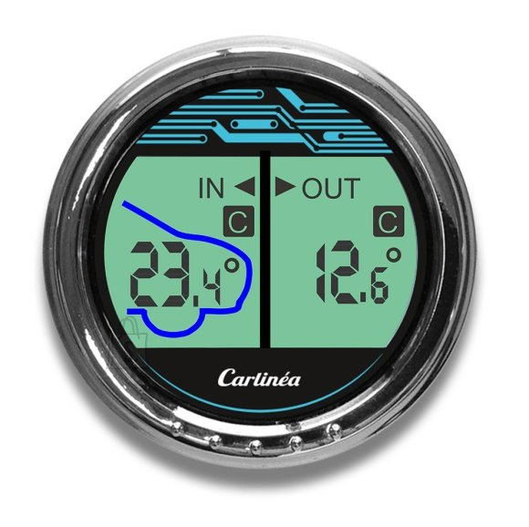 Carlinea termomeeter