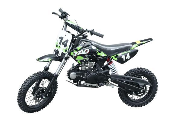 Dirt Bike DB 14 krossiratas 110cc roheline-must