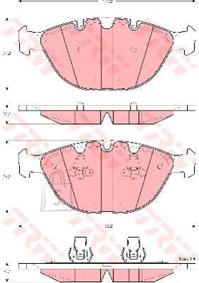 Piduriklotsid X5