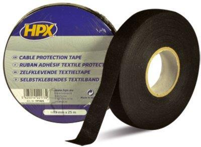 HPX Tekstiilteip must 19mmx25m