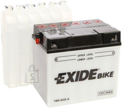 Exide 12V 30Ah Y60-N30-A 185x125x170 +-