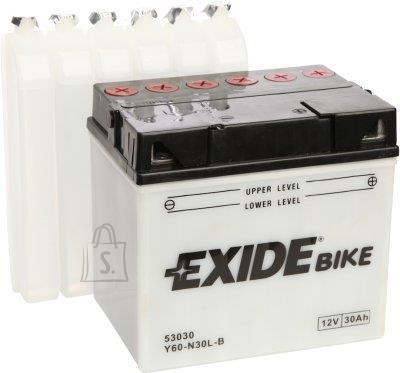 Exide 12V 30Ah Y60-N30-B 185x125x170 -+