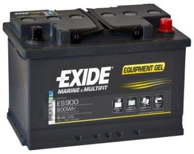 Exide EQUIPMENT GEL 80Ah 900Wh 353x175x190-+