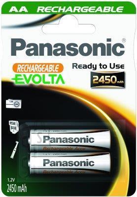AA Aku Panasonic NiMh 2450mAh, 2tk.