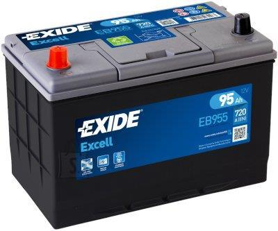 Exide EXCELL 95Ah 720A 306x173x222+-