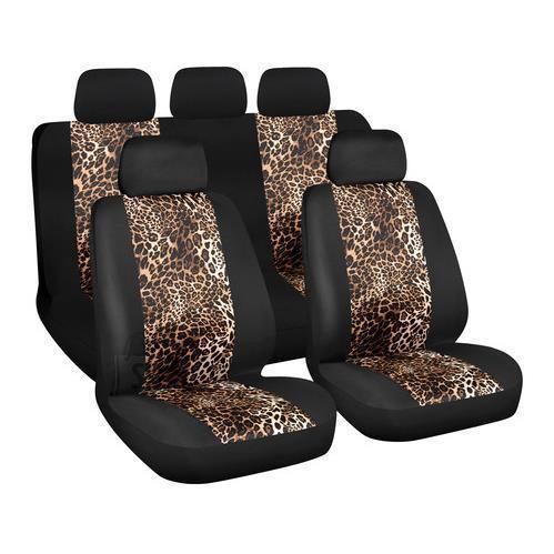 Istmekatete komplekt Leopard, must