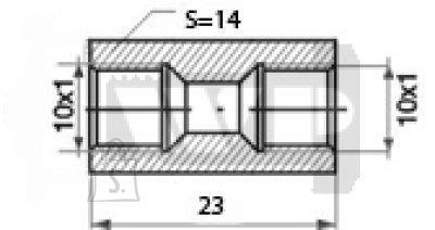 Toruliide sisekeere OAA 10x1