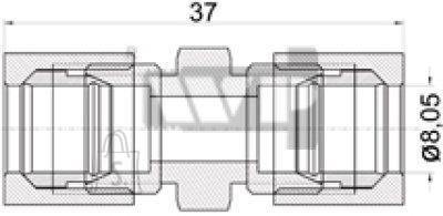 Toruühendus 8mm