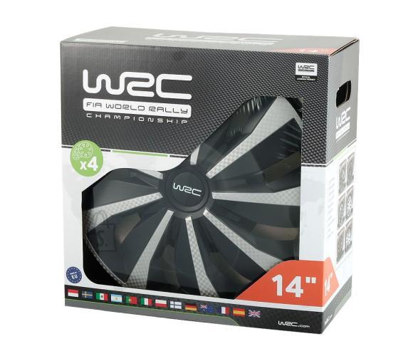 """WRC ilukilbid Carbon 15"""", komplektis 4tk"""